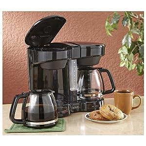 Cuisinart Coffee Maker Dual Cup : USD :Sale Dual Coffee Maker Black Reviews - SW-21