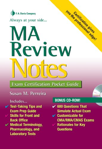 MA Review Notes: Exam Certification Pocket Guide (Exam...