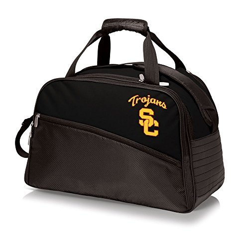 ncaa-usc-trojans-stratus-insulated-cooler-duffel-bag-black-by-picnic-time