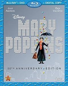 Mary Poppins: 50th Anniversary Edition (Blu-ray + DVD + Digital Copy) from Walt Disney Studios Home Entertainment