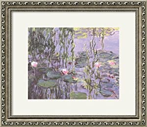 Nympheas by Claude Monet Framed