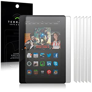 Amazon Kindle Fire HDX 8.9 Screen Protector Case / Guard / Film / Cover 6-in-1 Pack By Terrapin