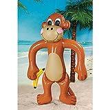 "Jumbo Inflatable Monkey - Approx. 61"" Tall"