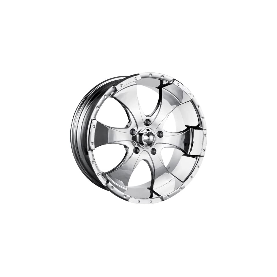 Ion Alloy 136 Chrome Wheel (20x9/6x139.7mm)