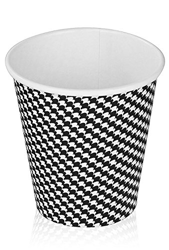 Golden Spoon® Party Cups Checker Design (100 Count) (8 oz) (8 Ounce Disposable Coffee Cups compare prices)