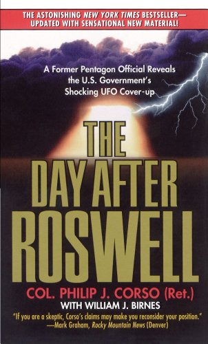 The Day After Roswell: Philip Corso: 9780671017569: Amazon.com: Books
