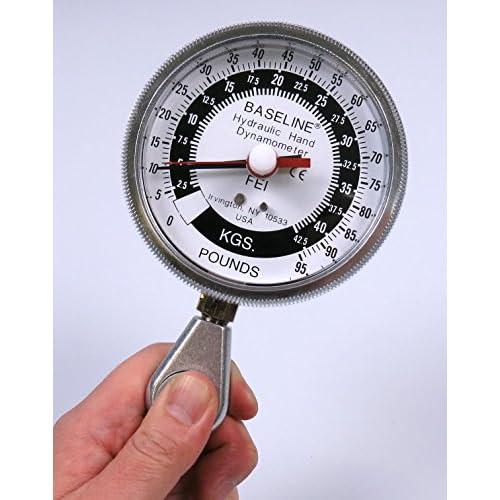 BASELINE ベースライン 油圧式 ピンチ力計 42.5kg
