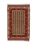 L'EDEN DEL TAPPETO Alfombra Konya Antik Rojo/Beige 116 x 163 cm