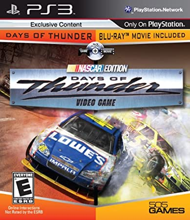 Days Of Thunder - Game & Movie