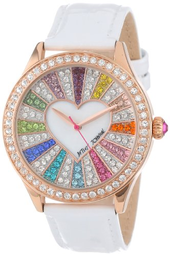 Betsey Johnson Women's BJ00131-15 Analog Crystal Set Dial Watch
