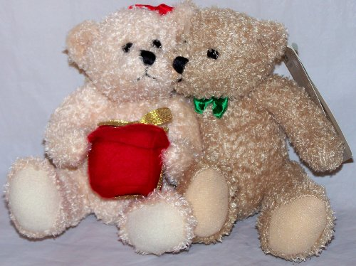 1 X Mistletoe Bears Teddy Bear plush