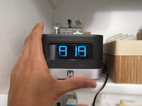 iHome iC50BY Android Alarm Clock Speaker Dock