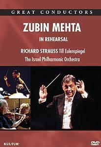 Zubin Mehta In Rehearsal