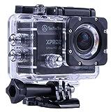 TecTecTec XPRO2 4K Ultra HD Sport-Kamera Wifi - Wasserdichte Kamera 16 Mp - Schwarz