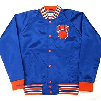 Mitchell & Ness New York Knicks NBA Injury Report Satin Jacket by Mitchell & Ness
