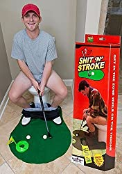 Shit N Stroke - Potty Putter Bathroom Golf from Blue Foot Products