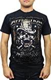 Affliction Mens Cover Charge T-Shirt XL Black
