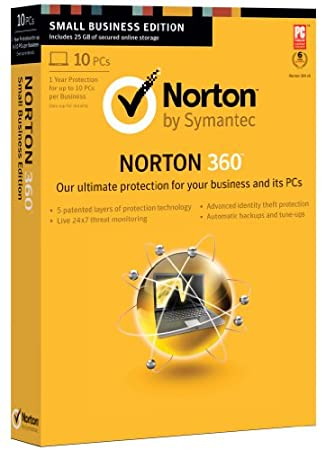 Norton 360 2013 Small Business Edition - 10 Users