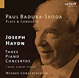 3 Piano Concertos (F major, G major, D major)