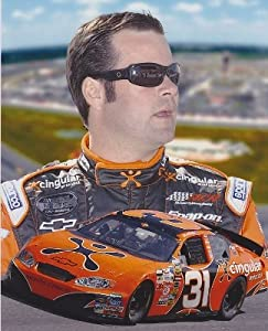 Robby Gordon Unsigned Cingular Racing 8x10 inch Photo by Real Deal Memorabilia