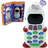 Gifts Online Abc And 123 Learner Mobile Toy For Kids, LED Display + Music, Educational And Learning Toy For Kids