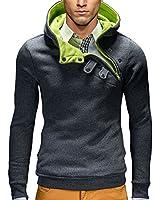 BetterStylz Kapuzenpullover Paco Hoher Kragen Pullover Hoodie Sweatshirt Pulli div. Farben (S-XXL)