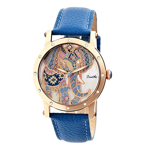 bertha-womens-bthbr5705-betsy-mop-blue-genuine-leather-strap-watch