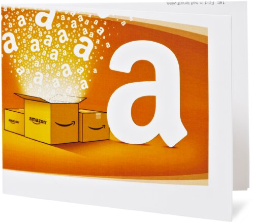 Amazon.co.uk Printable Gift Card