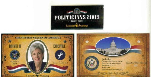 ron-kind-2009-executive-trading-cards-politicians-wi3r-wisconsin