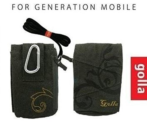 golla-g189-case-cover-bag-pouch-universal-fit-for-most-mobile-smart-cell-phones-with-zipper-belt-and