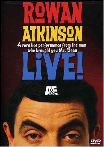 Rowan Atkinson Live! Cover