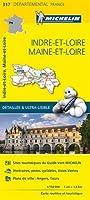 Carte Indre-et-Loire, Maine-et-Loire Michelin
