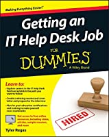 Getting an IT Help Desk Job For Dummies Front Cover