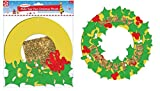 MAKE YOUR OWN CHRISTMAS FOAM WREATH - XWRE