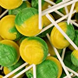 Mega Lollies Lemon & Lime - 10 Pack