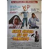 Poster Cartelera: ESTE CHICO ES UN DEMONIO