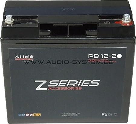 AUDIO sYSTEM 12-20 pB-hIGH pERFORMANCE power batterie 12 v