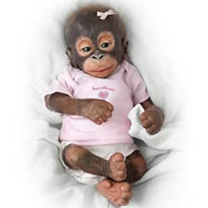 Amazon Com Wendy Dickison Little Umi Orangutan Doll