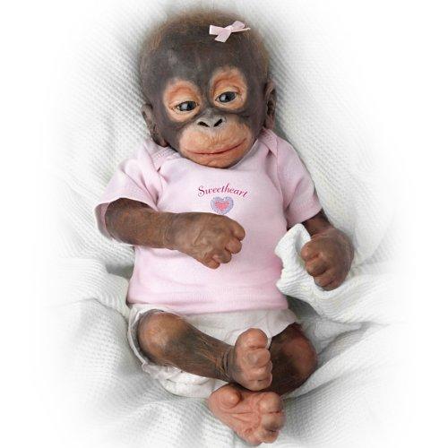 Wendy Dickison Little Umi Orangutan Doll: Collectible Monkey Doll by Ashton Drake