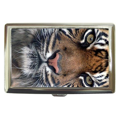 Special Edition Cigarette Money Case Indian Tiger