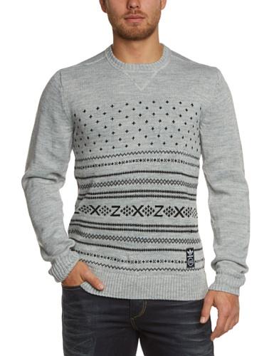 adidas-herren-pullover-zx-knit-crew-medium-grey-heather-xl-g84466