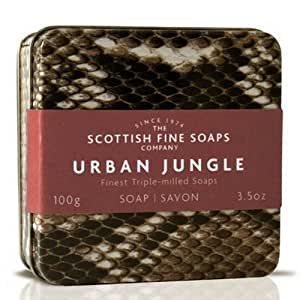 scottish fine soaps soap in a tin snake bath soaps beauty. Black Bedroom Furniture Sets. Home Design Ideas