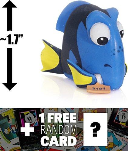"Dory (Tagged): ~1.7"" Funko Mystery Minis x Finding Dory Mini Vinyl Figure + 1 FREE Classic Disney Trading Card Bundle"