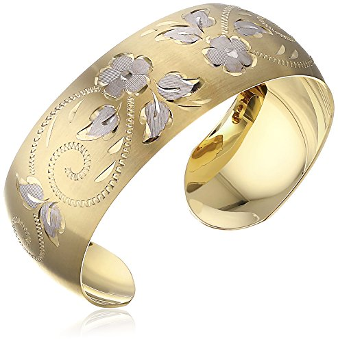 14k-Yellow-Gold-Filled-Hand-Engraved-Cuff-Bracelet