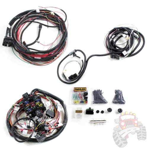 [SCHEMATICS_4FD]  Painless Performance Wiring Pre Terminated Wire Harness 1976 1986 Jeep CJ5  CJ7 and CJ8 Scrambler 10110 - Yomonoonosereeaa | 1986 Jeep Cj7 Wiring |  | Google Sites