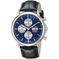Edox Les Bemonts Day-Date Mens Watch