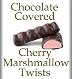Chocolate Covered Cherry Marshmallow Twists 1 Lb