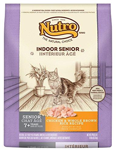 Nutro Indoor Senior Cat Chicken & Whole Brown Rice Recipe