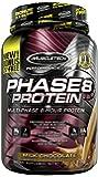 MuscleTech Phase 8 Protein Powder, Multi-Phase 8-Hour Protein Formula, Milk Chocolate, 2.5 lbs (1.13kg) *Bonus Size*