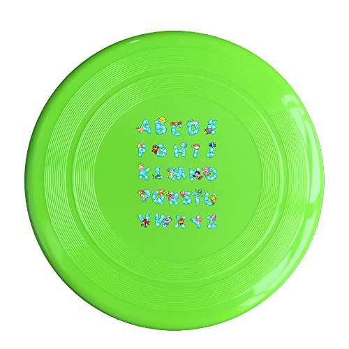 EVALY Ocean Alphabet Poster 150 Gram Ultimate Sport Disc Frisbee KellyGreen (Doc Mcstuffins Toaster compare prices)